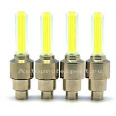 Светодиодные колпачки (Желтые)