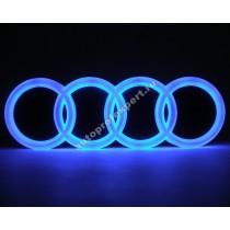 Светящаяся 4D эмблема Audi