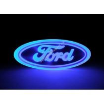 Светящаяся 4D эмблема Ford