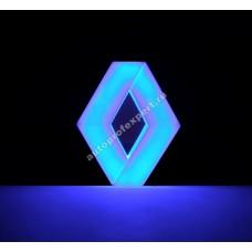 Светящаяся 4D эмблема Renault