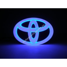 Светящаяся 4D эмблема Toyota