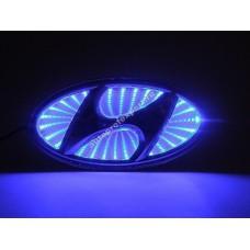 Светящаяся 3D эмблема Hyundai