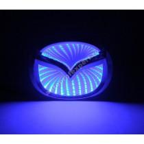 Светящаяся 3D эмблема Mazda