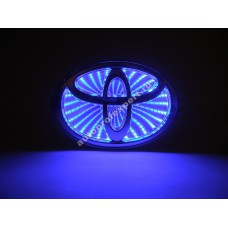 Светящаяся 3D эмблема Toyota