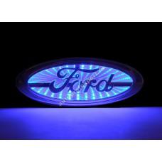 Светящаяся 3D эмблема Ford
