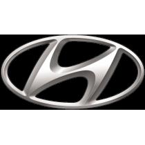 Светящиеся эмблемы Hyundai (2)