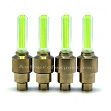 Светодиодные колпачки (Зеленые)